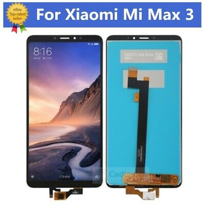 For Xiaomi Mi Max 3  LCD touch Screen Digitizer Full Assembly Tools Black RHN02