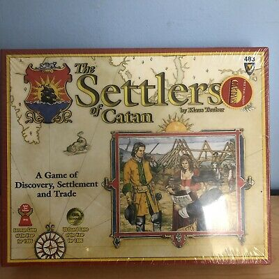 Mayfair The Settlers of Catan Strategy Board Game NIB 2003 1996 Origins 483