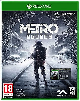 Metro Exodus Dayone-Edition (Xbox One) New (Uncut) (Quick Delivery)