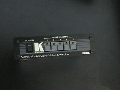 Kramer 55SN Vertical Interval S-Video Switcher