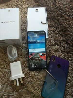 Huawei P20 lite - 64GB - Klein Blue (Unlocked) (Single Sim)