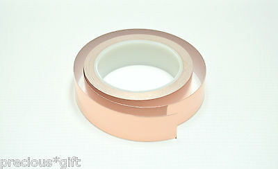Copper Foil Tape Ribbon EMI shielding/Guitar/Slug and snail barrier 3'x30mm