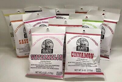 CLAEY'S OLD FASHIONED HARD CANDY - 6oz BAG - MULTIPLE FLAVORS! - FREE SHIPPING!