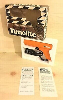 Gunson's Timelite Neon Timing Light Vintage Boxed With Instructions