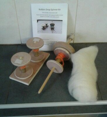 Drop Spindle & Bobbin Kit