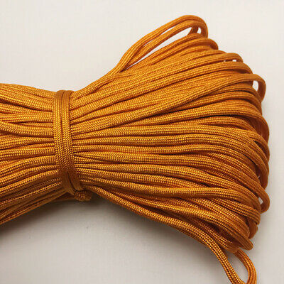 550 Paracord Parachute Cord Lanyard Mil Spec Type III 7 Strand Core 25FT HOT27