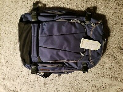 eBags TLS Mother Lode Weekender Convertible Carry-On Travel Backpack Blue