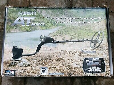 Garrett AT Pro Metal Detector + Headphones - DD Coil - Brand New...NO RESERVE!!!