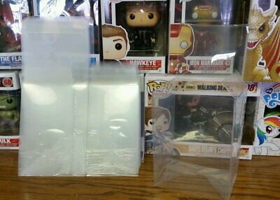 "Funko Pop! Box Protectors For 4"" Vinyl Figure Super Thick Clear Cases"