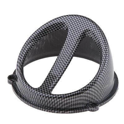 Carbon Fiber Look High Performance Fan Cover for GY6 125cc 150cc Scooter