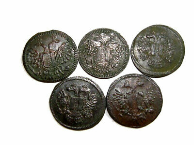 LOT of 5 pcs. Early/Middle 1800s. Tokens(rechenpfenning)+++Very RARE+++