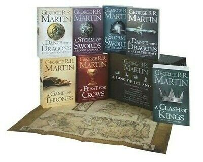 A Game of Thrones: The Story Continues: The Complete Boxset of All 7 Books by...