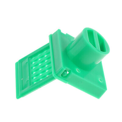 Beekeeping Equipment Tool Gate Bee Hive Entrance Reducer Vent Hole, Green