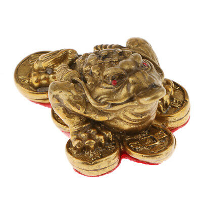 Feng Shui Ornament Lucky Fortune Oriental Chinese Wealth Toad Xmas Gifts_S