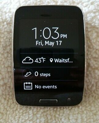 Samsung Galaxy Gear S R750T Charcoal Black (T-Mobile) Excellent condition.