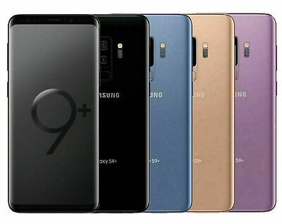 Samsung Galaxy S9+ PLUS SM-G965U 64GB FACTORY Unlocked DEVICE 4G ~OB~ Excellent