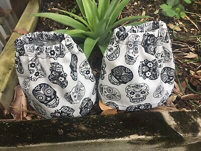 Sock Savers Sock Protectors Boot Gaiters Tradies Gardeners Hikers  Skulls