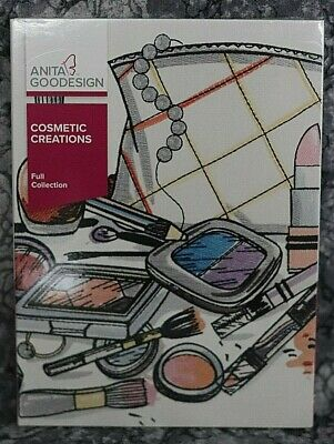 Anita Goodesign Cosmetic Creations Embroidery Design CD ,sealed