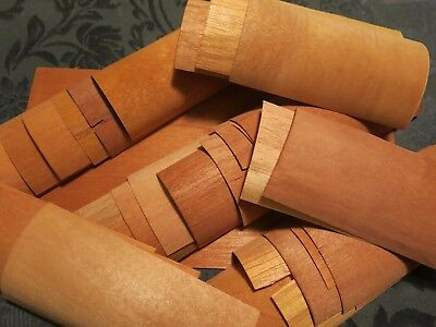 Cedar Wraps for making 70+ Spills to Light up Cigars or build Humidors