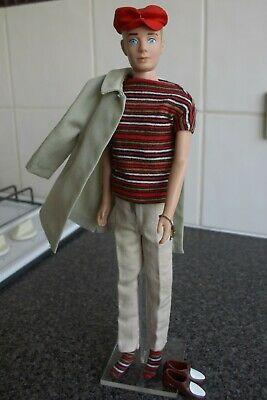 Vintage Blond Ken Doll In #782 Casuals, #788 Rally Day 1960s Mattel