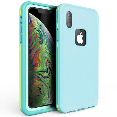 For Waterproof iphone Xr Xs Max Case Underwater Built-in Screen Protector Cover