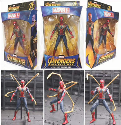 Avengers Infinity War Iron Spider Man Marvel Action Figure 7""