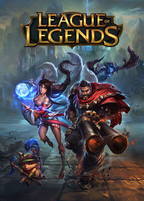 NEW $25 LEAGUE Of Legends LOL Riot Points Gift Card New Skins FREE
