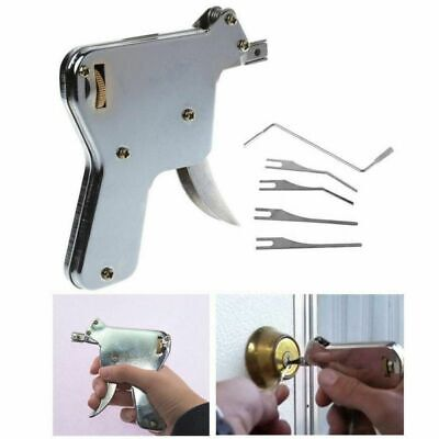 Unlocking Strong Lock Gun Repair Tool Kit Door Opener Bumps Key Stainless Steel