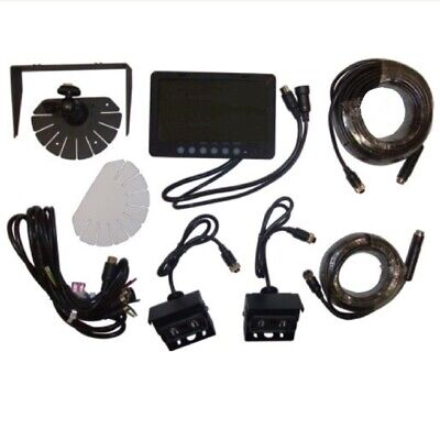 "8301347 New Universal Products Cab Camera Kit 3 12V W/ 7"" LCD Monitor"