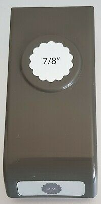"Stampin' Up! 'SCALLOP 7/8"" CIRCLE'  Punch - Retired"