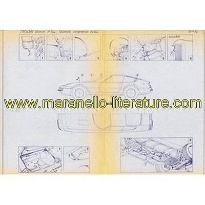 1974 Ferrari technical information n°0244 365 GTB/4 Daytona (Preventing body rus