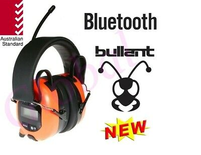 BULLANT ABA840 Multimedia Bluetooth Headphones Earmuffs Headset AM FM Radio