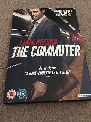 liam neeson the commuter dvd