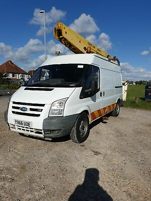 Ford transit 2001 mewp cherry picker 13.5 mtr reach