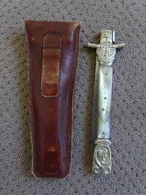 Folding Knife Of Louvetier Châtellerault Early 19C Very Rare French Knife