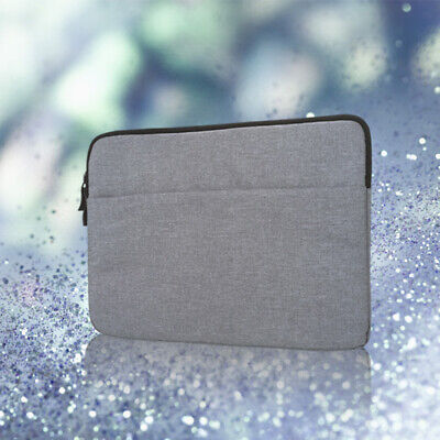 "For 12"" Macbook HP Dell Bag Pouch Laptop Cover Sleeve Gray Travel Case Protable"
