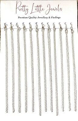 "100 Jewellery Chain 18"" Necklace Pendants WHOLESALE Premium Quality Made in UK"
