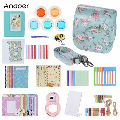 Andoer 14 in 1 Accessori Kit per Fujifilm Instax Mini 8/8 + / 8s w/Custodia (2)