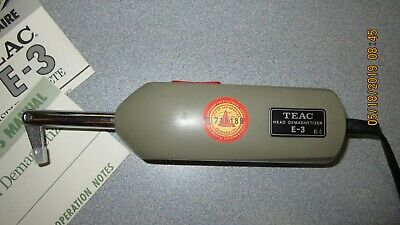 Teac E-3 Head Demagnetizer In Original Box And Instructions