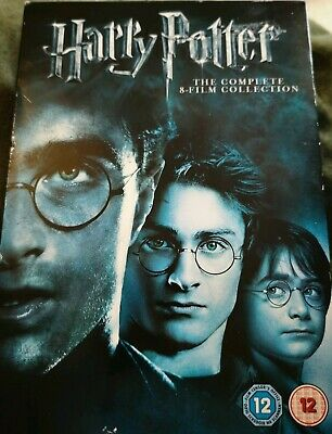 Harry Potter - Film Collection Boxset Years 1 - 7 DVD Box Set MISSING 1 DISC