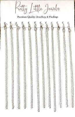 "200 Jewellery Chain 16"" Necklace Pendants WHOLESALE Premium Quality Made in UK"