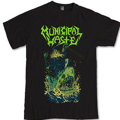 MUNICIPAL WASTE merch tee metal band Splatterhouse game S M L XL 2XL 3XL t-shirt