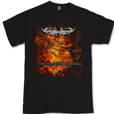 WHEN BLOOD BURNS merch tee underground metal band S M L XL 2XL 3XL t-shirt