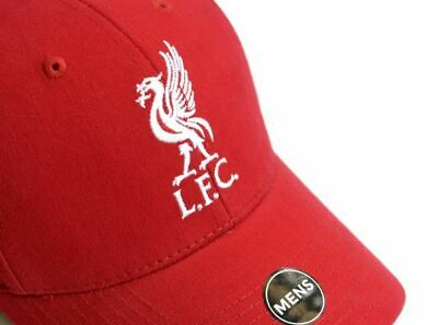 Liverpool FC LFC Red Color Mens Adult Baseball Cap Hat Liverbird New Gift Xmas