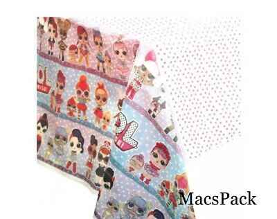 LOL Surprise Doll Paper Table Cover Disposable Birthday party supplies