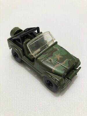 Hot Wheels U.S. Army Jeep Diecast Cars Camouflage
