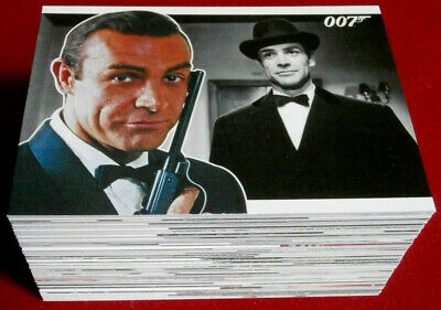 JAMES BOND - HEROES AND VILLAINS - COMPLETE 81 Card Base Set - RITTENHOUSE 2010