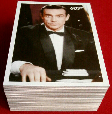JAMES BOND - ARCHIVES - COMPLETE 66 Card Base Set - RITTENHOUSE 2009