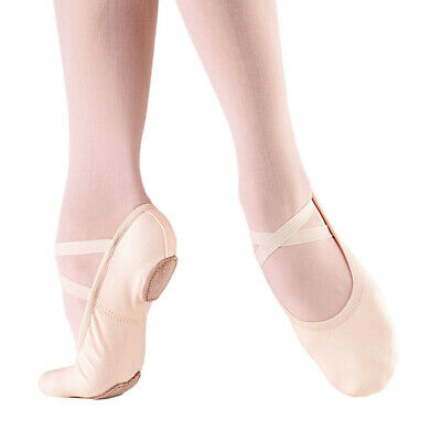 So Danca Split Sole Canvas Ballet Shoes SD16 Pink or White
