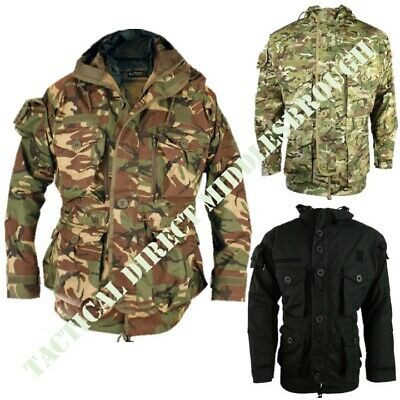 f48147a1 British Army Sas Style Ripstop Jacket Mens S-2Xl Combat Smock Btp Mtp Dpm  Camo
